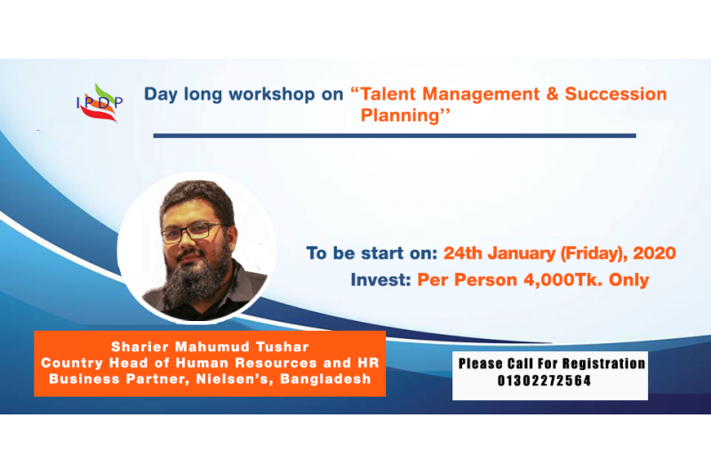 Day long workshop on ``Talent Management & Succession Planning''