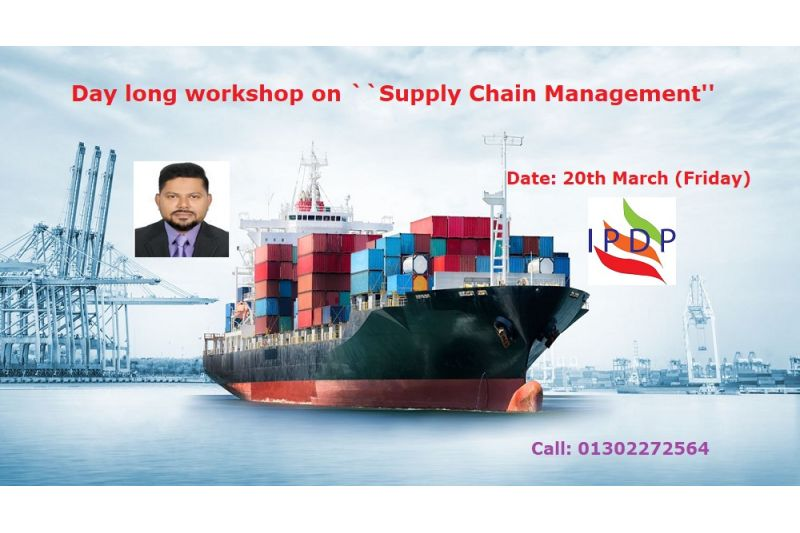 Day long workshop on ``Supply Chain Management''