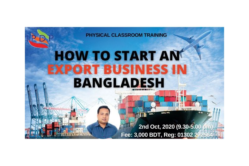 """Day long workshop on """"Start Your Own Export Business"""" (A to Z guideline)"""