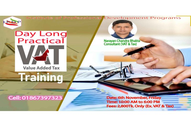Day long practical exercise on ``Value Added Tax (VAT)""