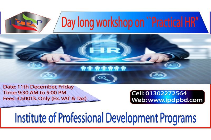 Day long workshop on ``Practical HR""