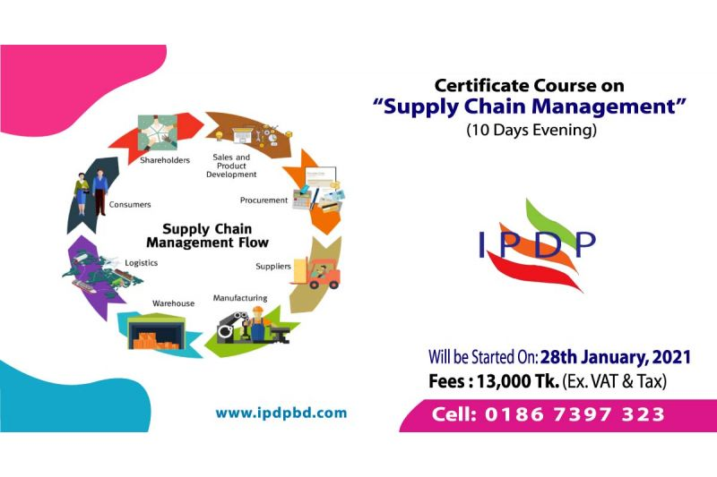 """Certificate Course on ``Supply Chain Management"""" (10 Days Evening)"""
