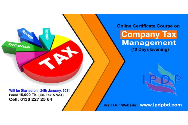 """Certificate course on """"Company Tax Management''  (10 Days Evening)"""
