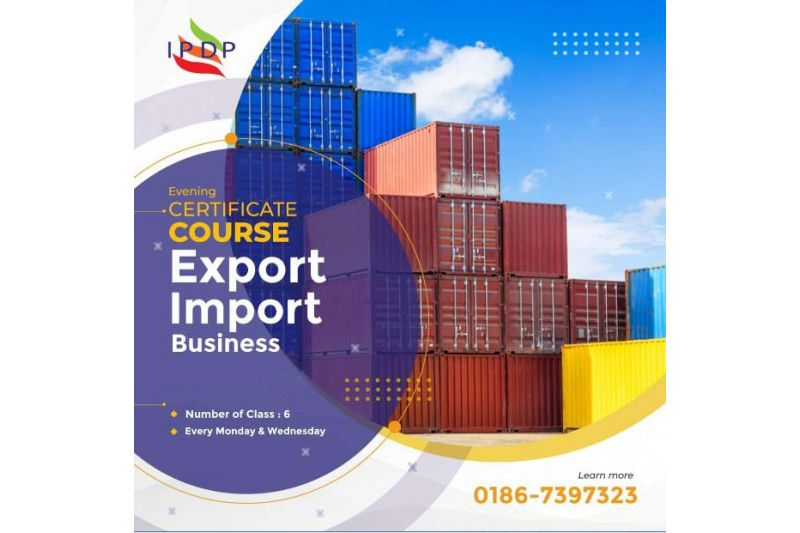 """Certificate Course on """"Export – Import Management"""" (6 Days Evening)"""