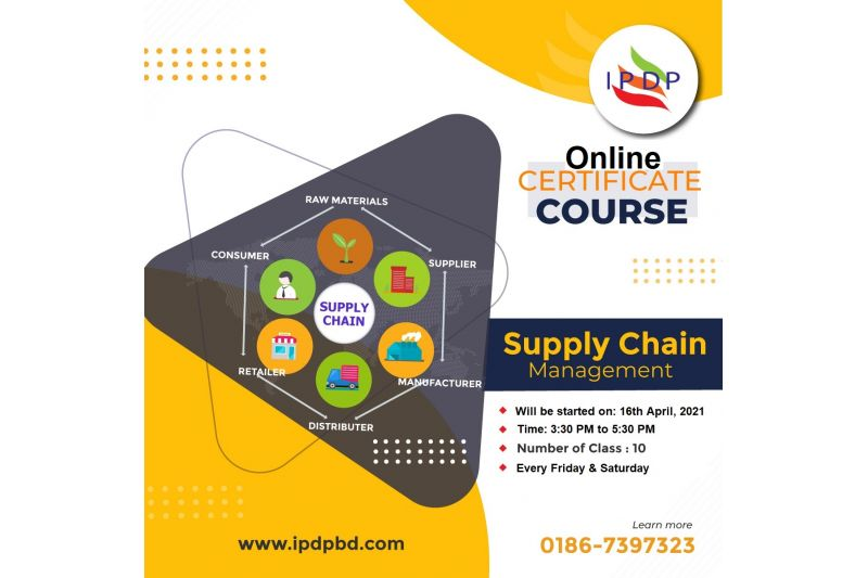 """Online Certificate Course on ``Supply Chain Management"""" (10 Days Evening)"""
