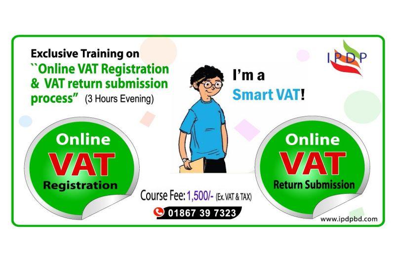 "Exclusive Training on ``Online VAT registration & VAT return submission process"" (3 Hours)"