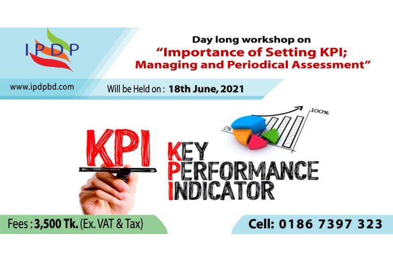 """Day long workshop on ``Importance of Setting KPI; Managing and Periodical Assessment"""""""