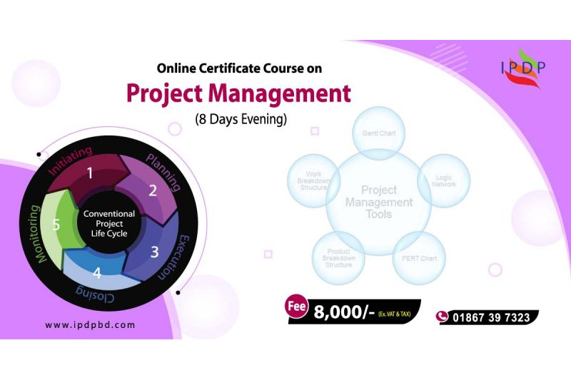 """Online Certificate Course on ``Project Management"""" (8 Days Night)"""