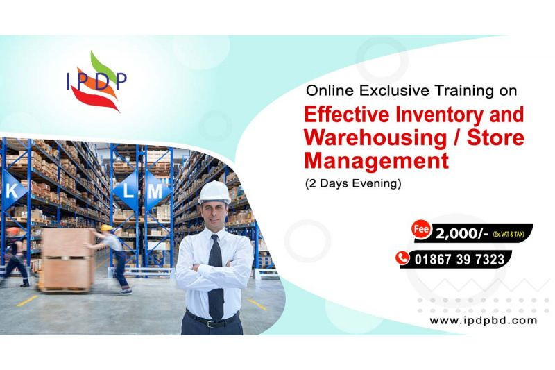 """Online Exclusive Training on ``Effective Inventory and Warehousing / Store Management"""" (2 Days Evening)"""