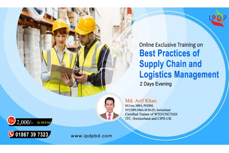 """Online Exclusive Training on ``Best Practices of Supply Chain and Logistics Management """" (2 Days Evening)"""