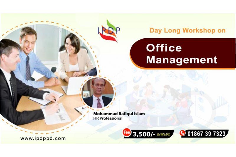 "Day long workshop on ``Office Management"""
