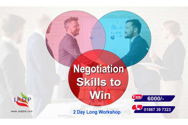 """2 Day long workshop on ``Negotiation Skills to Win"""""""